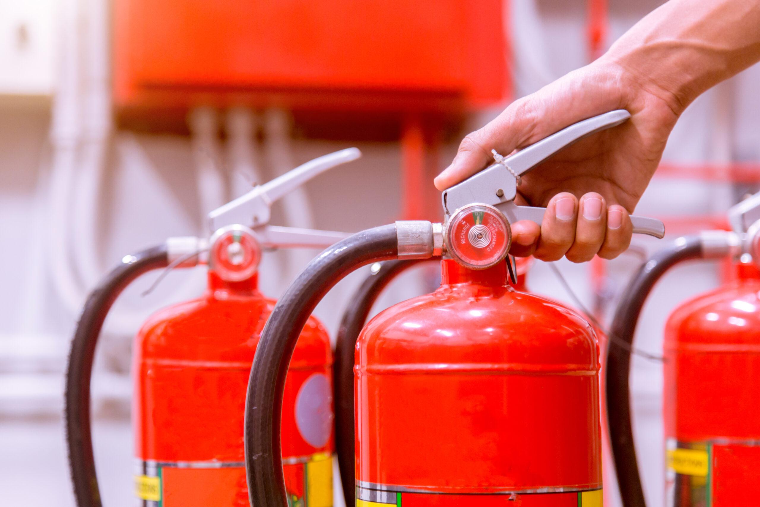 Revize hasicí přístroje